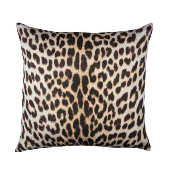 Printed Linen Cushion Panter 50x50