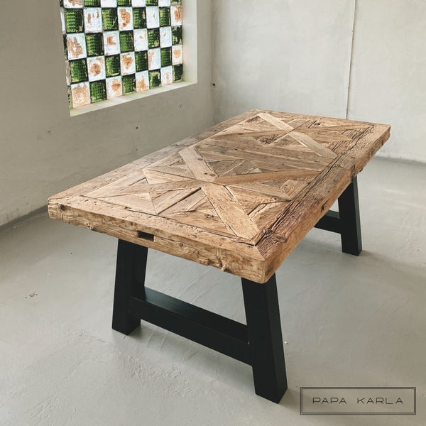 Old Wood Table 95x195