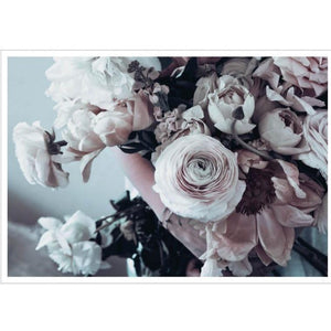 "Poster ""Pink Flower Bouquet"" 100x70"
