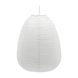 rice paper shade egg shape eastern style simple white design riispaberist lambivari kaunis kuju lihtne disain