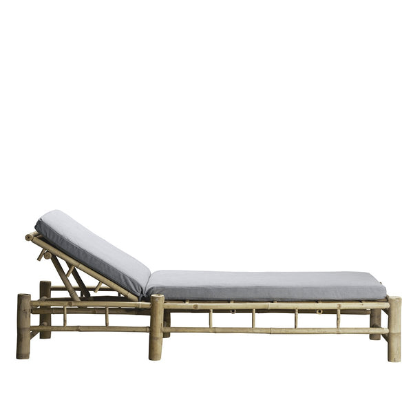 Bamboo Sunbed with Mattress