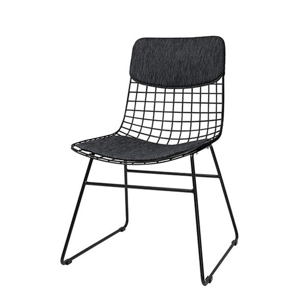 Wire Chair Comfort Kit Black