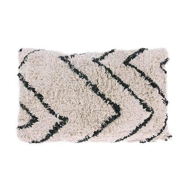 Cotton Zigzag cushion 40x60