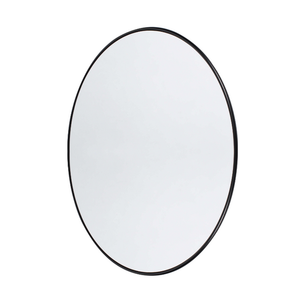 Wall Mirror Round black