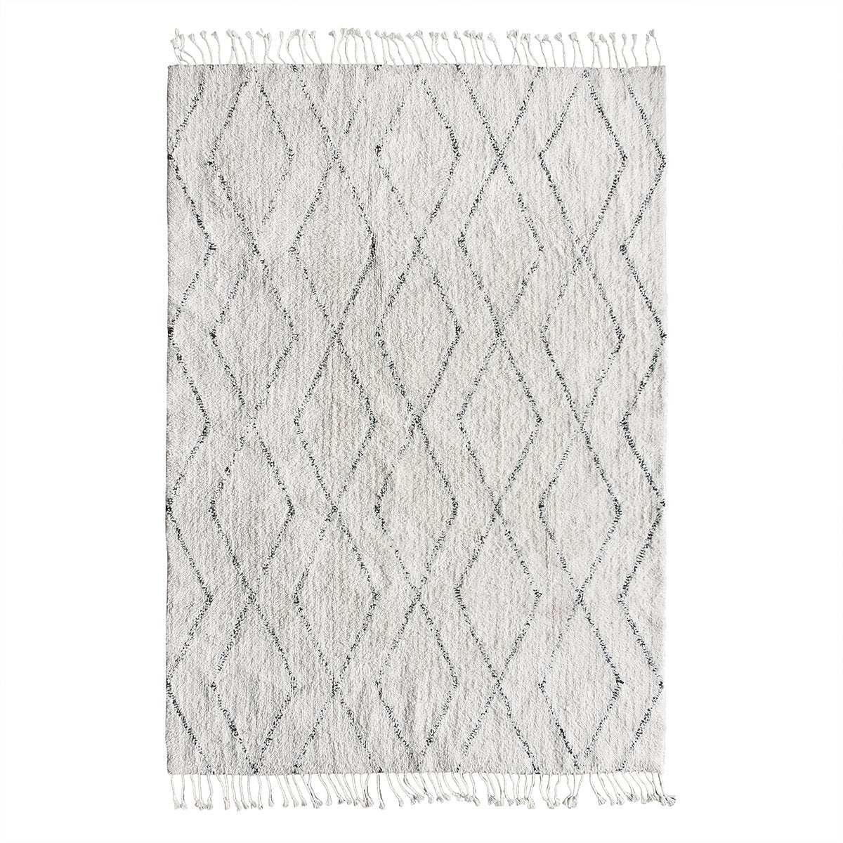 Cotton berber rug 140x200