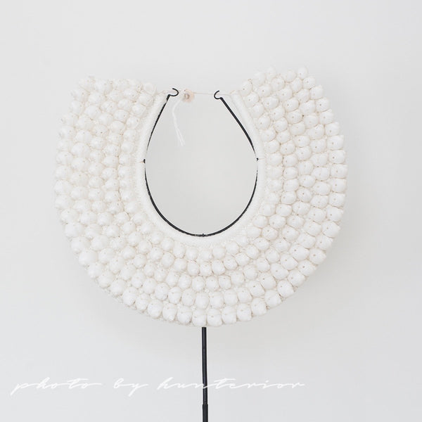 Tribal Necklace White Shells