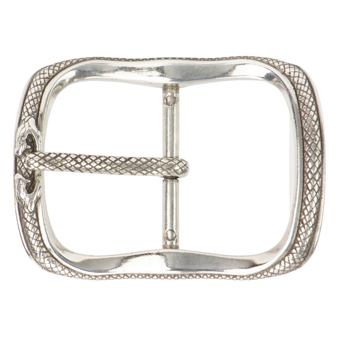 "38mm (1-1/2"") Infinity Snake Center Bar Buckle, AS"