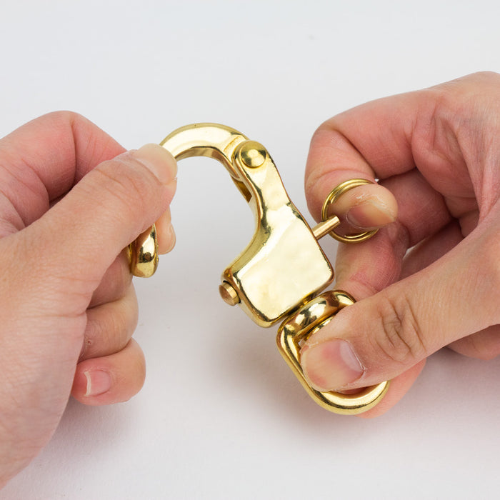 Solid Brass Snap Shackle, SB