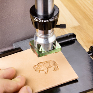 Skull Barbwire 3D Stamp