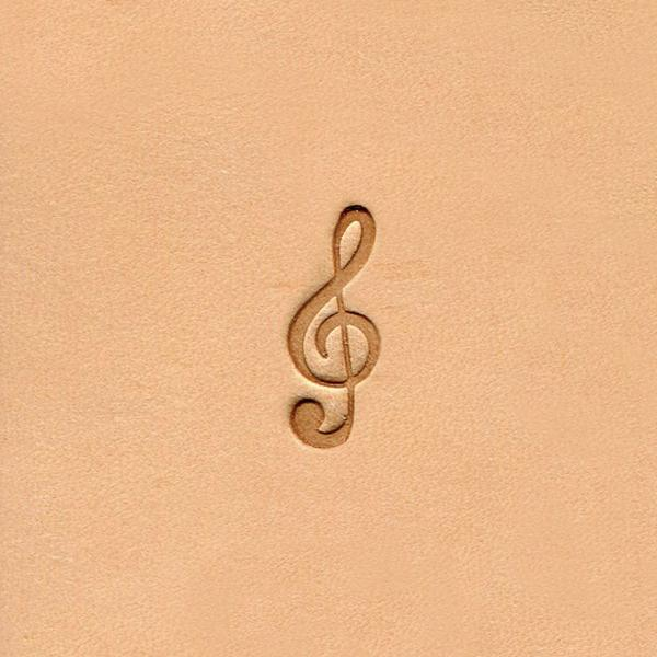 E568 Musical Note Stamp