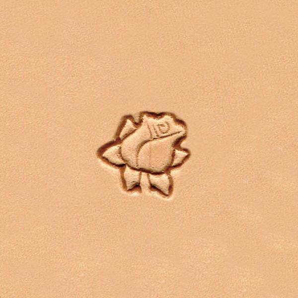 W964 Flower Acorn and Pine Cone Stamp