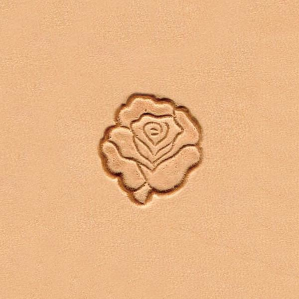 W966 Flower Acorn and Pine Cone Stamp