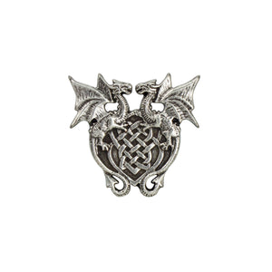"Dragon Heart Concho, 30mm (1-3/16""), AN"