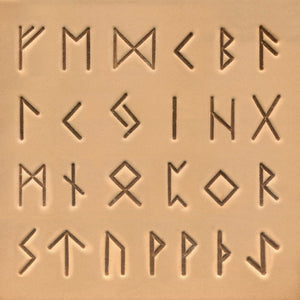 "19mm (3/4"") Celtic Alphabet Stamp Set"