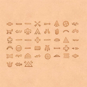 Native American Symbol Stamp 43 Piece Set