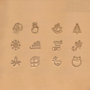 "13mm (1/2"") Christmas Stamp Set"