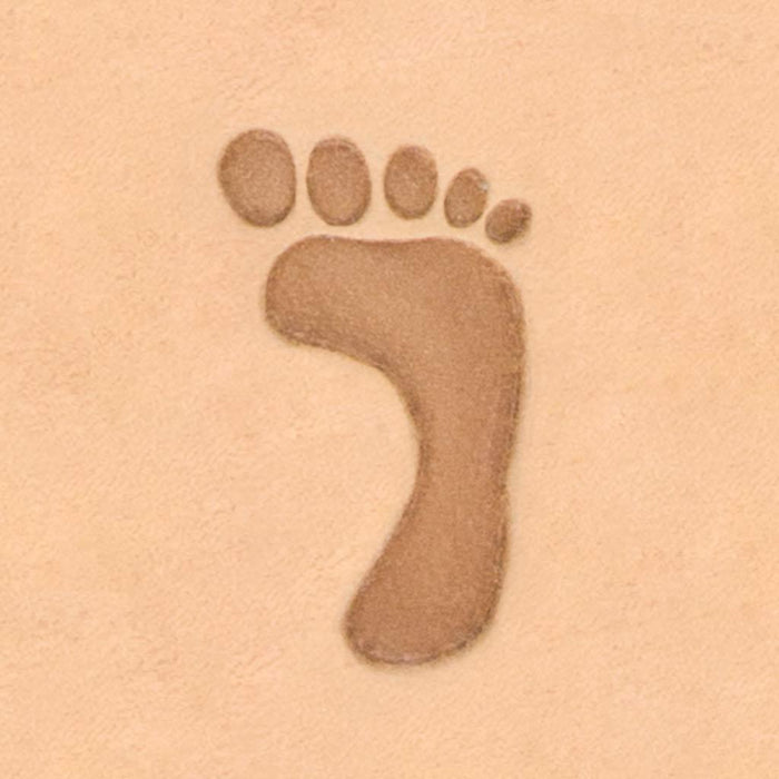 Fun Design Stamp - Large Foot Print, Right