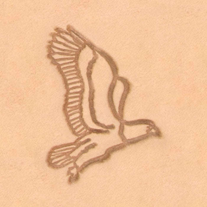 America Continent Animal Stamp - Hunting Eagle