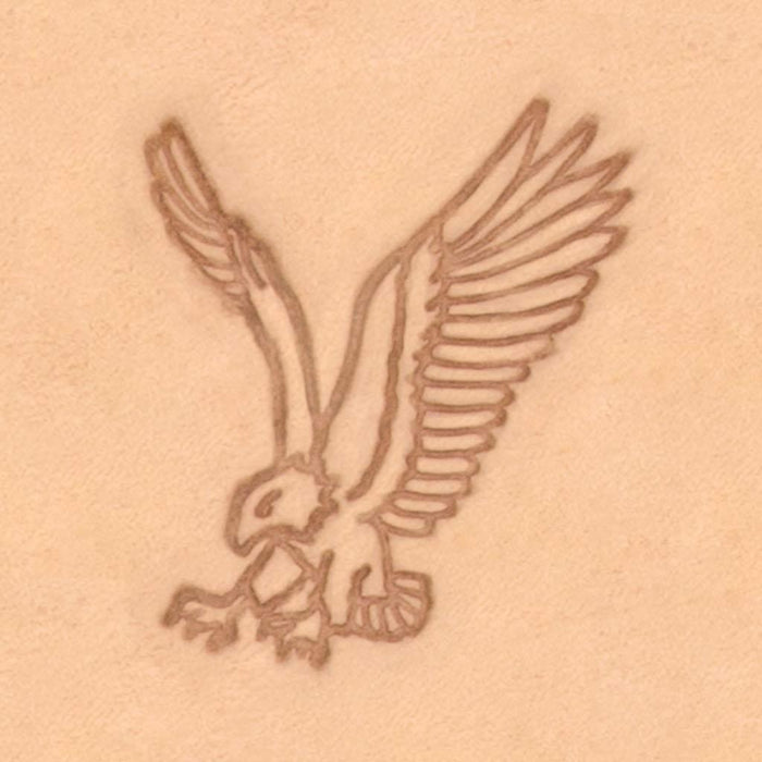 Western Cowboy Stamp - Swooping Eagle