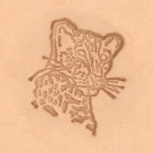 African Animal Stamp - Leopard