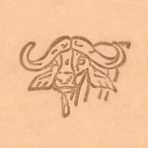 African Animal Stamp - Bighorn Head