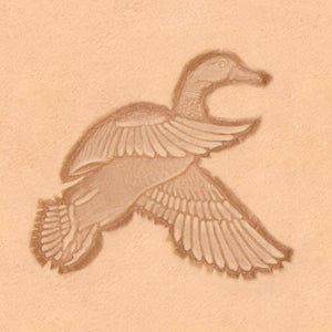 Western Cowboy Stamp - Flying Duck