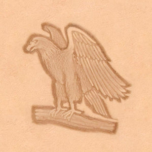 America Continent Animal Stamp - Standing Eagle