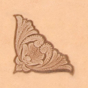Nature Stamp - Scroll Corner