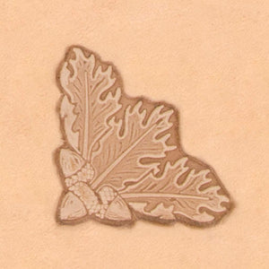 Nature Stamp - Oak Leaf Corner