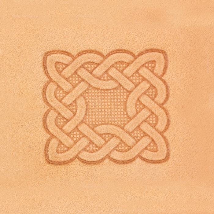 Celtic Rectangle 3D Stamp