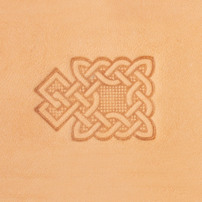 Celtic Square Loop 3D Stamp