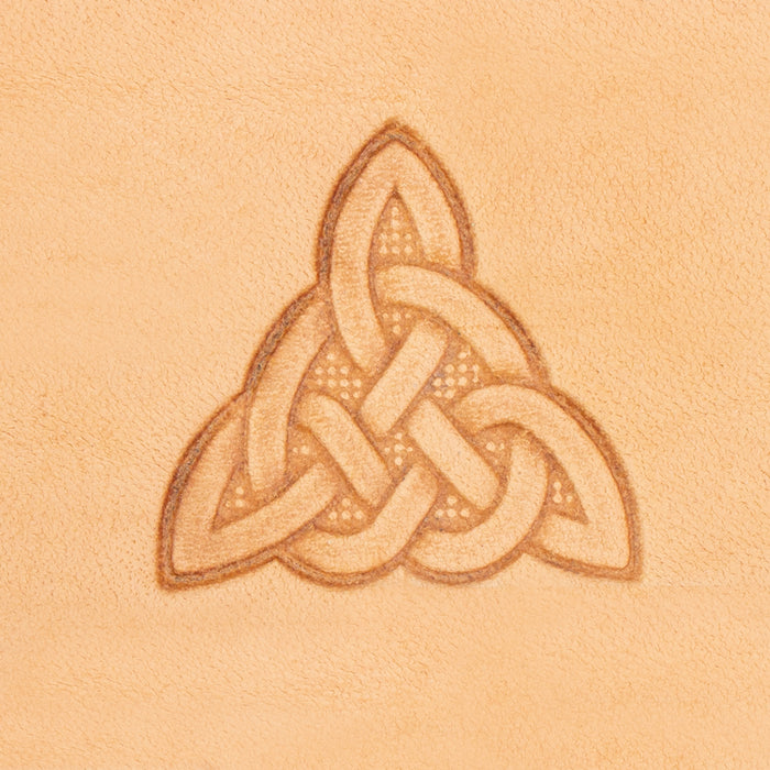 Celtic Triangle 3D Stamp