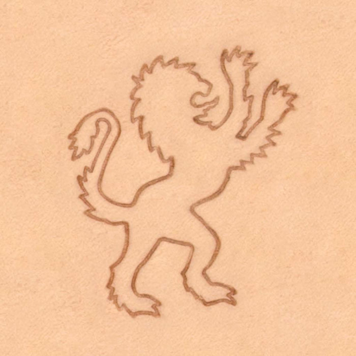 Classic European Stamp - Lion Right