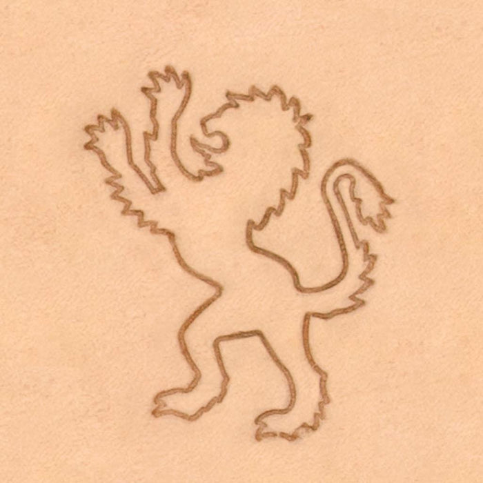 Classic European Stamp - Lion Left