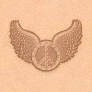 Motorcycle & Punk Stamp - Wing Peace