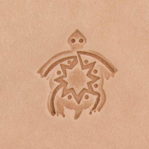 Southwest Turtle Mini 3D Stamp