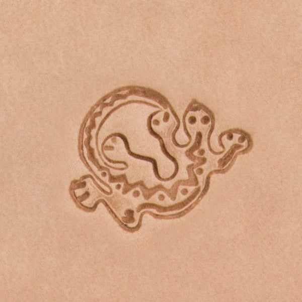 Southwest Lizard Mini 3D Stamp