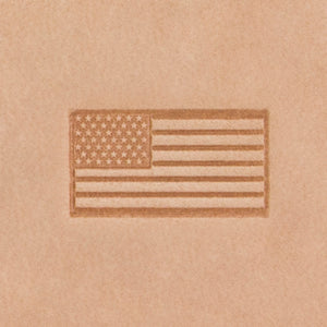 US Flag Mini 2D Stamp