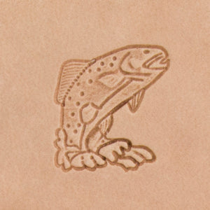 Trout Mini 3D Stamp
