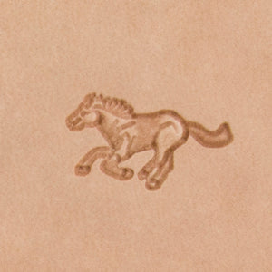 Running Horse Mini 3D Stamp