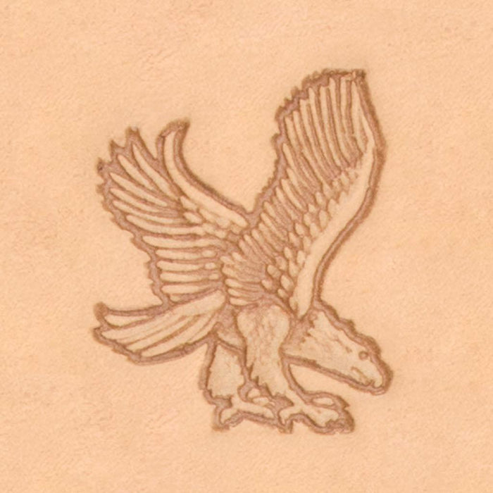 America Continent Animal Stamp - Eagle, Right
