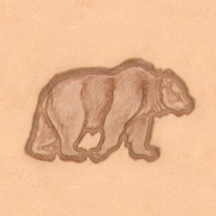 America Continent Animal Stamp - Bear