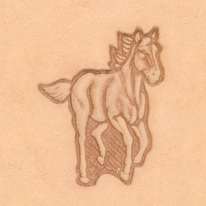 America Continent Animal Stamp - Running Horse