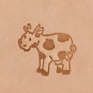 Cow Mini 2D Stamp