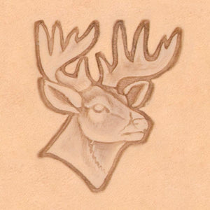 America Continent Animal Stamp - Deer Head