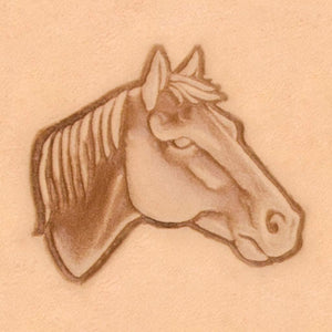 America Continent Animal Stamp - Horse Head, Right