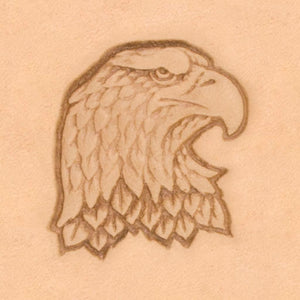 America Continent Animal Stamp - Eagle Head, Right
