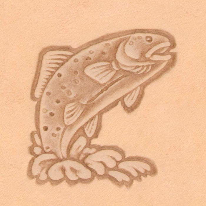 Western Cowboy Stamp - Trout