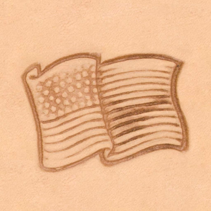 Peace & Flag Stamp - USA Flag