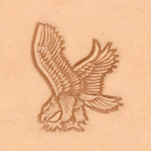 America Continent Animal Stamp - Eagle, Left
